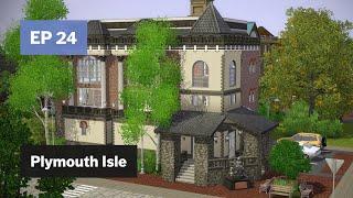جديد مكتبة ممر آند • بليموث جزيرة EP 24 • The Sims 3 خلق عالم