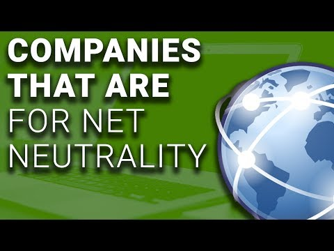 Amazon, Major Web Firms Join to Fight for Net Neutrality