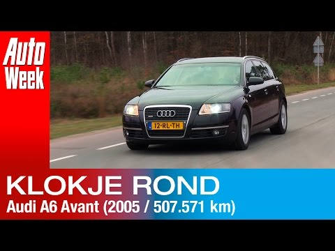 Klokje Rond - Audi A6 Avant 3.0 TDI (2005 - 507.571 km)