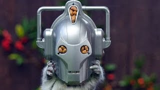 Cyber Squirrel Is New Doctor Who Alien. Be Furry Afraid!!