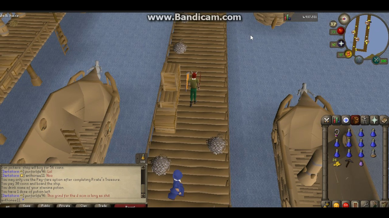 How To Get To Sand Crabsgreat Kourend Osrs Youtube