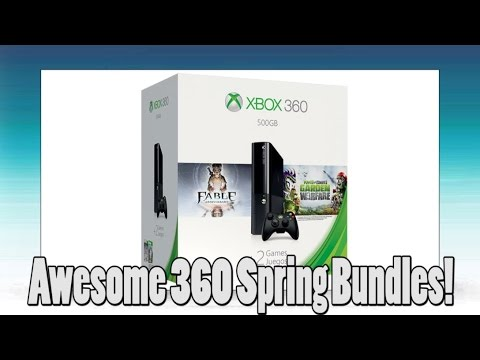 Spring 500 GB Xbox 360 Bundles Are Awesome!