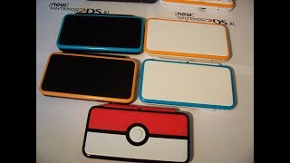 Custom Nintendo New 2ds xl First Blue & White Console Also 1st Black & Orange System ebay