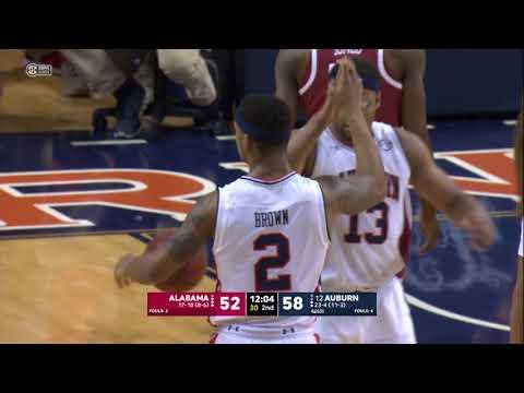 Auburn Basketball Defeats Alabama 90-71 Highlights