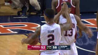 Auburn Basketball Defeats Alabama 90-71 Highlights