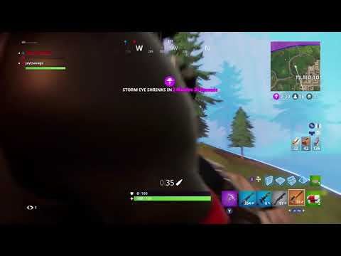 Fortnite Battle Royale-My best snipe