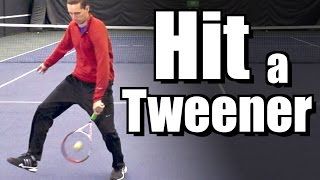How To Hit a Tweener With Super Slow Motion Examples
