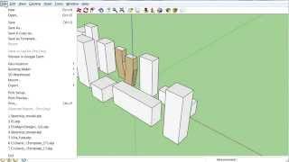 Импорт файла 3D-модели SketchUp