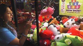 Claw Machine Wins at Circus Circus Las Vegas!