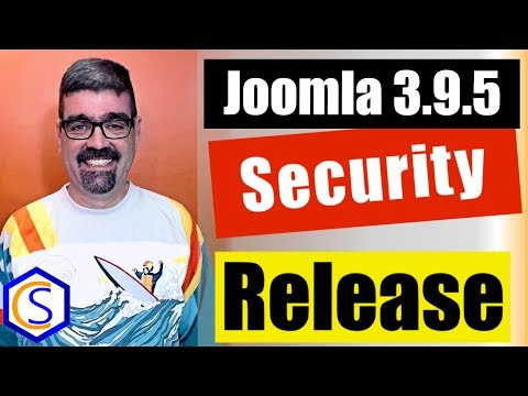 ? Live Bulletin -  ?Joomla! 3.9.5 Security and Bug Release - 2 How to update Joomla Tutorials thumbnail