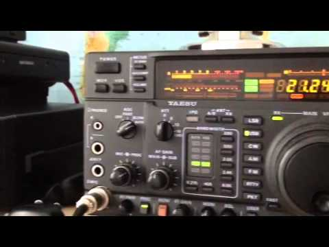 K1KW North America Amateur Station Boston MA Yaesu FT-1000MP