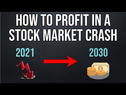 How To Profit From A Stock Market Crash (For Beginners)