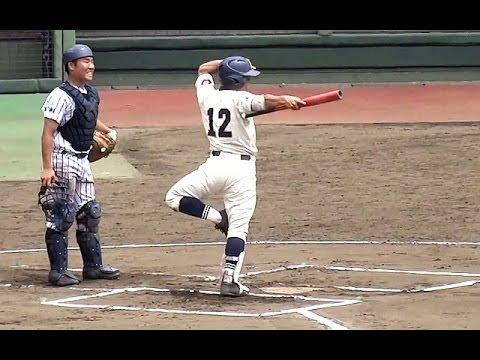 ヌンチャク君のバットさばきを見よ!滑川総合 馬場優治選手 第97回全国高等学校野球選手権埼玉大会