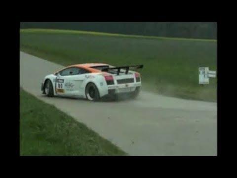 600 hp Reiter Gallardo rallying trough the streets of Bavaria