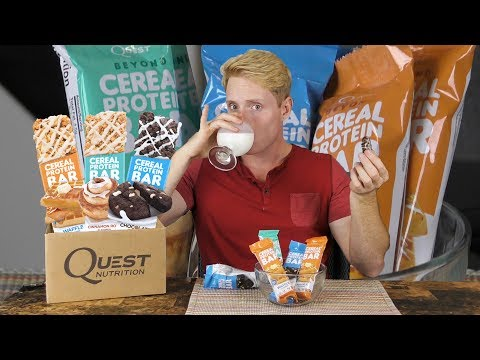 Review: Quest Beyond Cereal Protein Bars