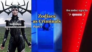 Relatable Zodiac Signs TikTok Compilation 💕Part 1💕
