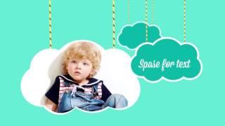 Слайд-шоу для показа детских фотографий