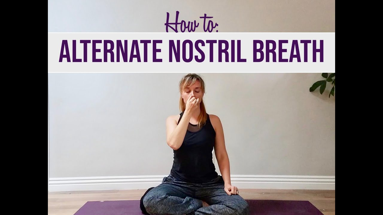 Alternate Nostril Breathing: How To & Benefits