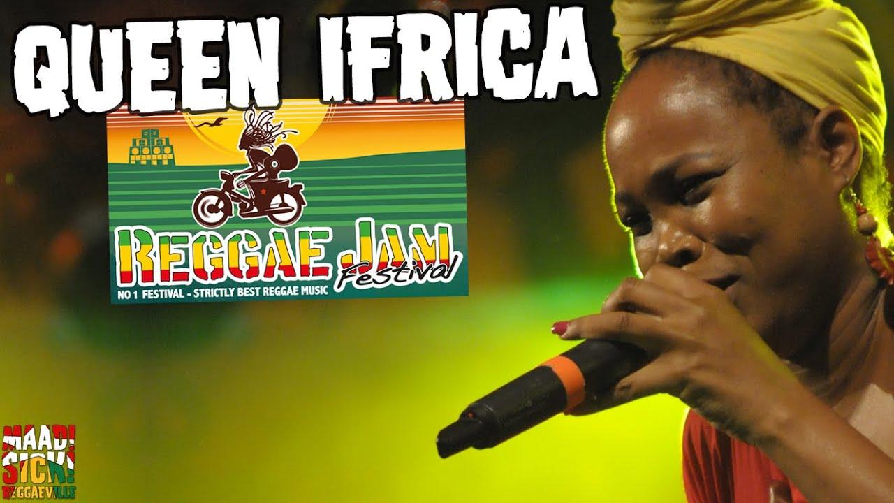 Queen Ifrica - Another Hit Song @ Reggae Jam 2016