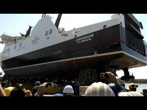 Lansarea navei ROPAX FERRY – LEGIONNAIRE