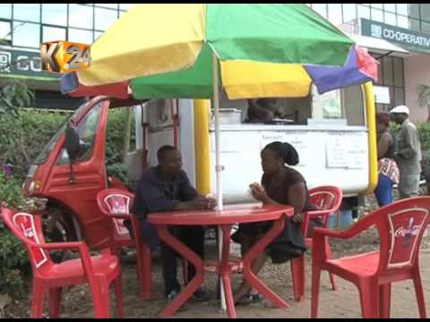 Mobile kitchen creating employment opportunities