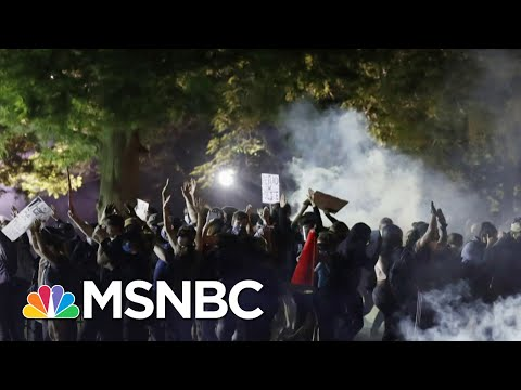 Right In Front Of The WH, Everyday Americans Are 'Asking For Change' | Andrea Mitchell | MSNBC