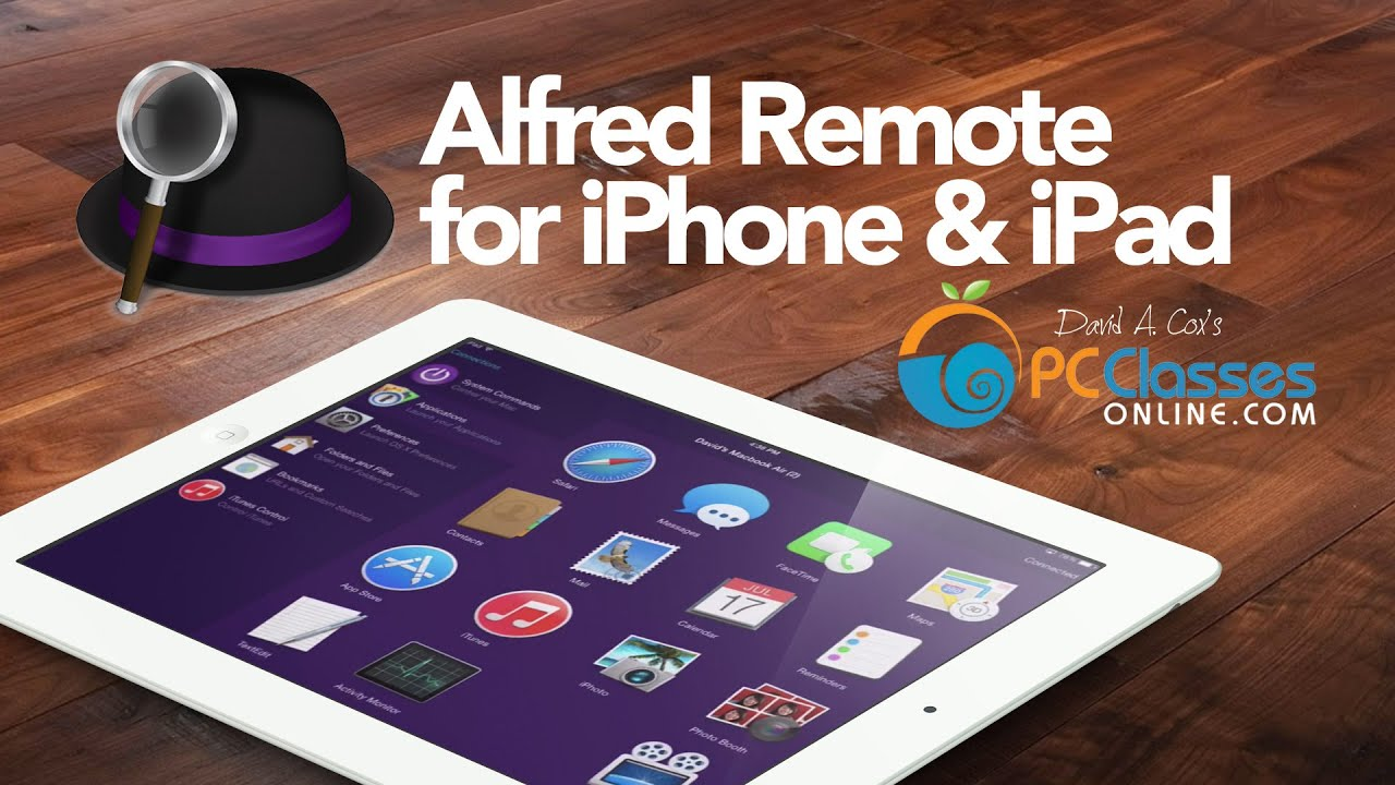 Alfred Remote for iPhone and iPad