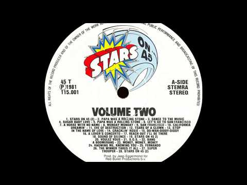Stars On 45 -  Stars On 45 (Longplay Album - Volume II) (1981) HD