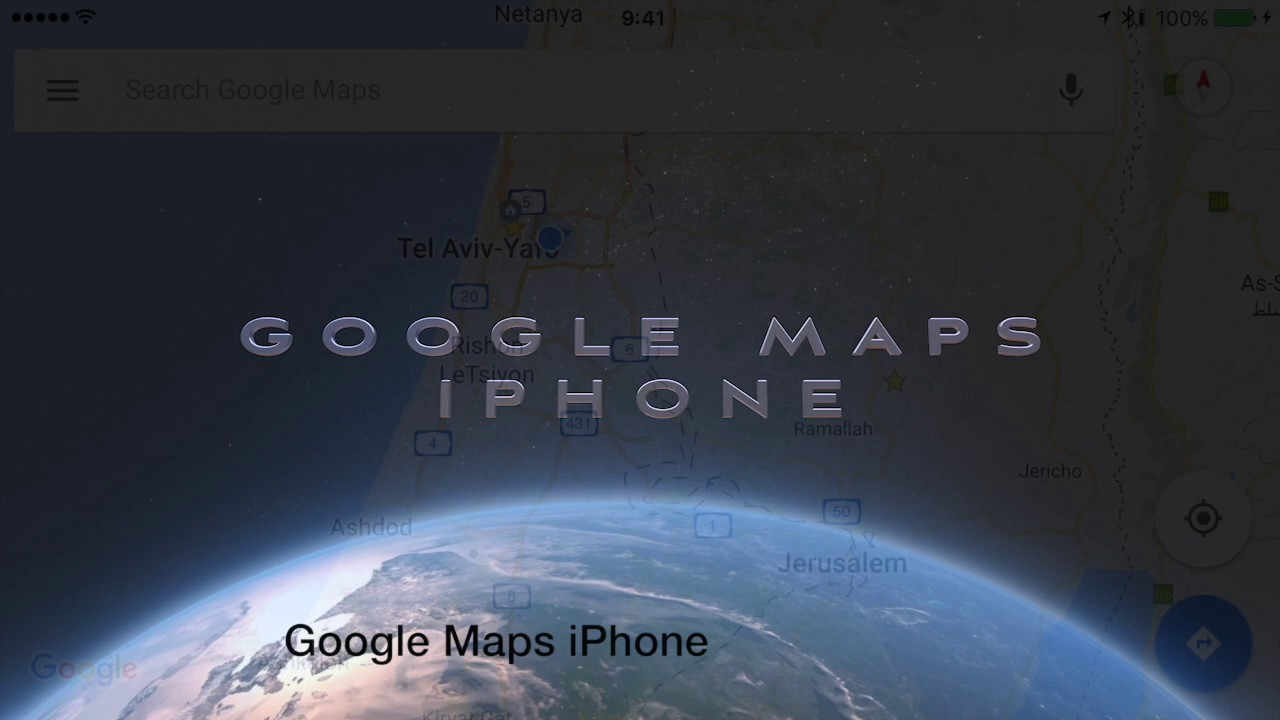 Where is Israel on Google Maps - YouTube