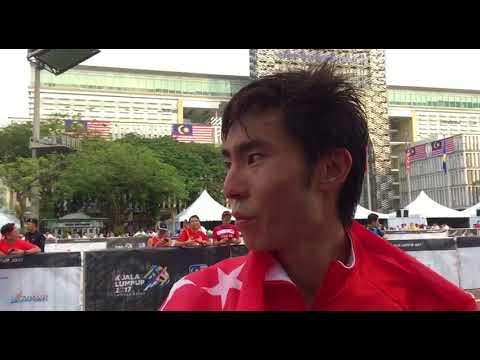SEA Games: Team Singapore's Soh Rui Yong wins gold in men's marathon