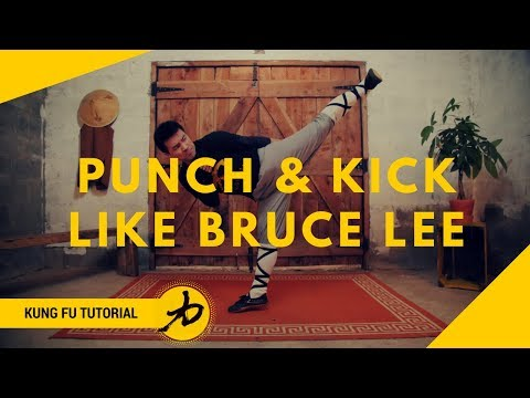 Bruce Lee Inspired - Flick Punch & Side Kick - Tutorial