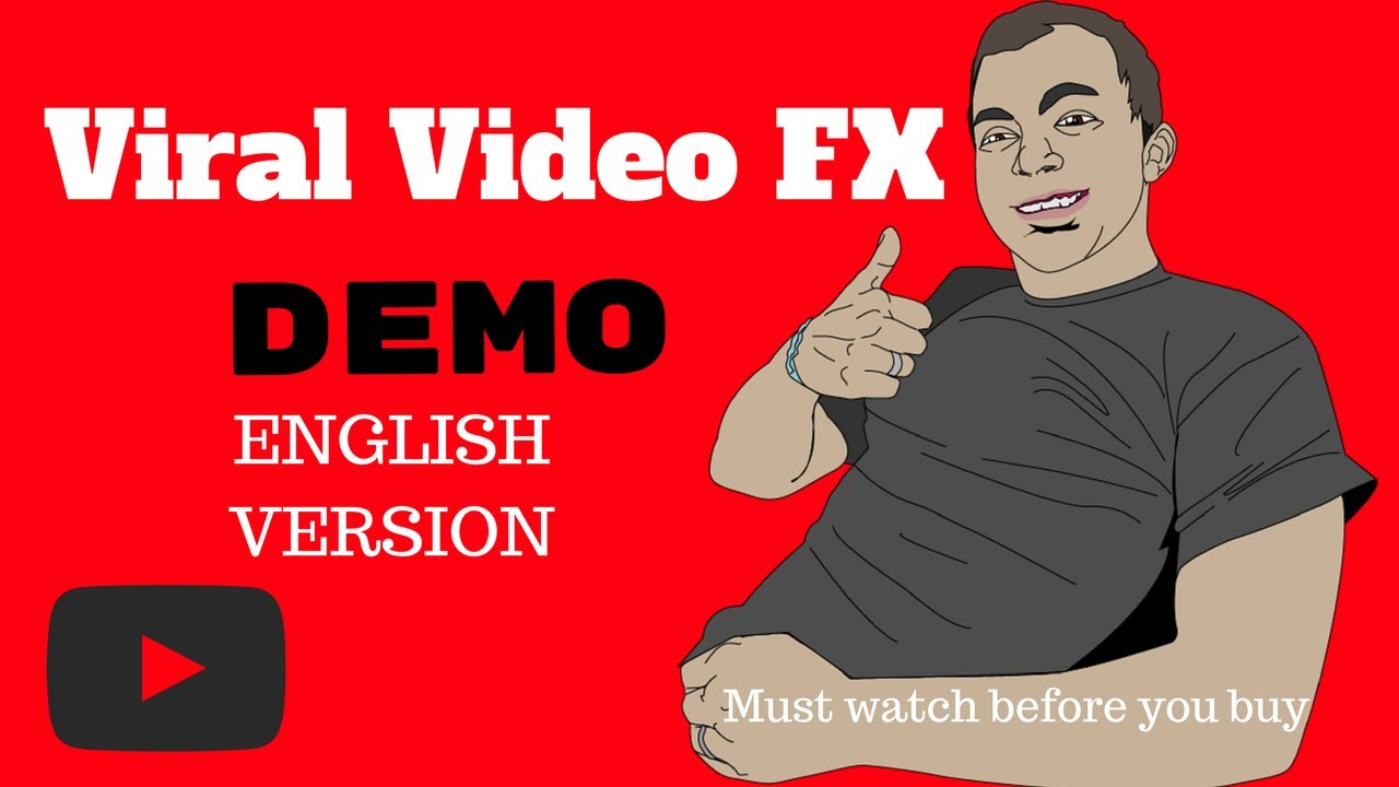 Viral Video FX DEMO in English - FREE Facebook traffic