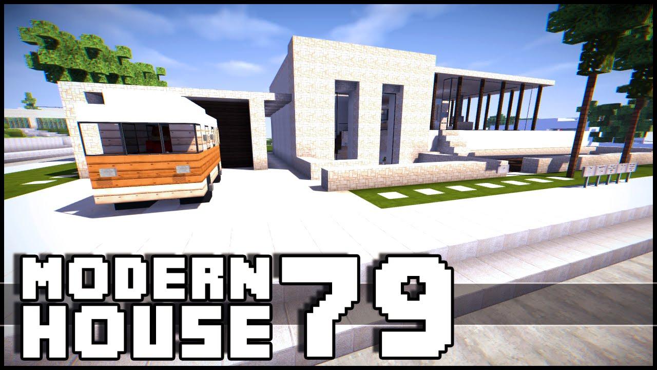 Minecraft modern house 79 youtube for Modern house keralis