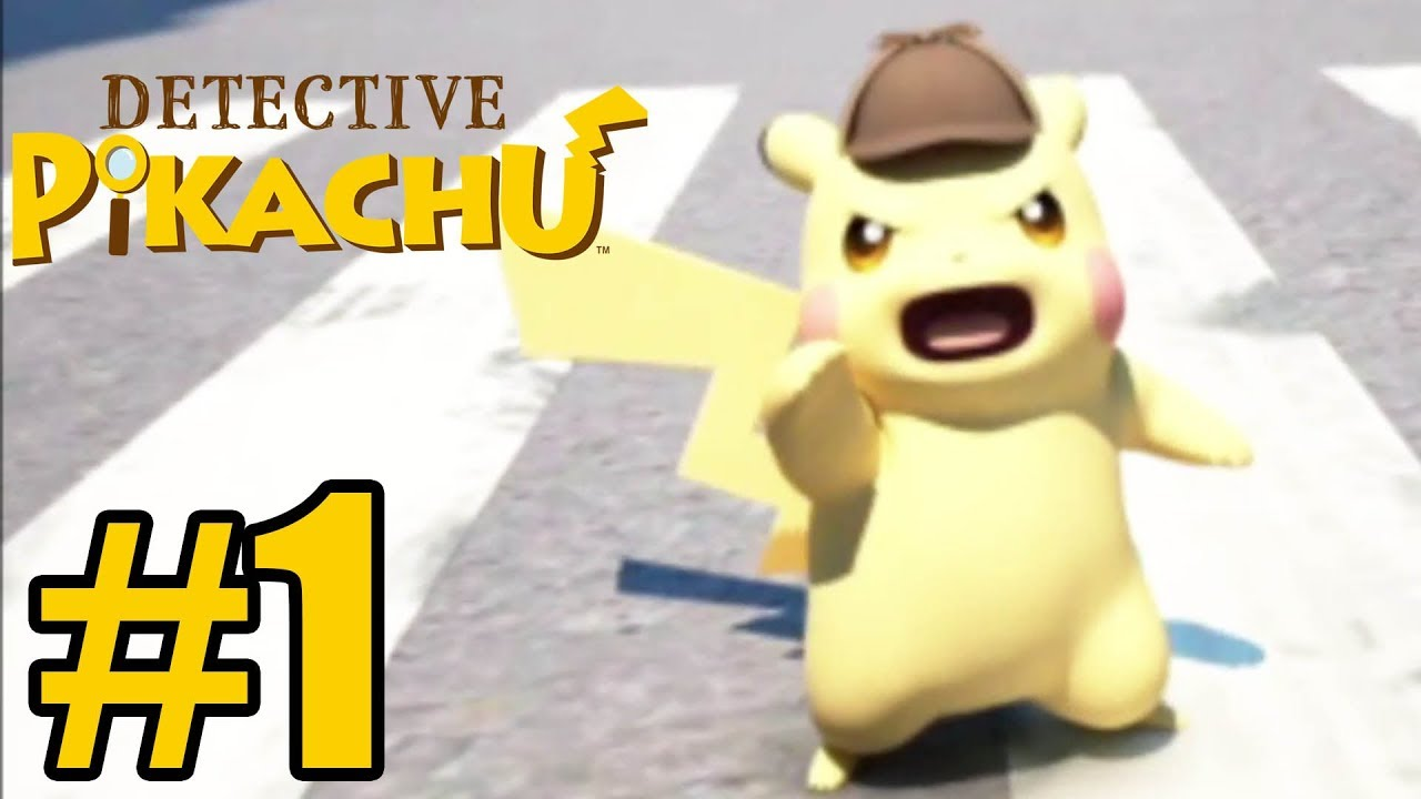 Detective Pikachu Gameplay Walkthrough Part 1 3ds Youtube