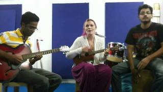 imrovisation of oasis wonderwall IGA(Infinito Guitar Academy) Vadodara