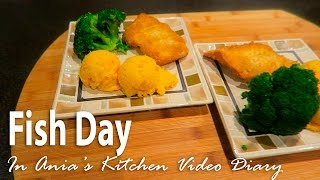 Ania's Video Diary - Fish Day - Daily Vlog