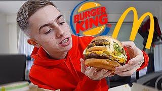 JE FUSIONNE DES BURGERS DE MCDO, BURGER KING ET QUICK ! (c'est une dinguerie)
