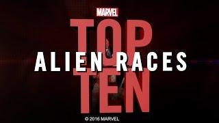 Marvel Top 10 Alien Races