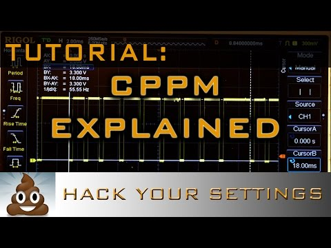 CPPM Explained. Hack your FrSky D4R-II Settings.