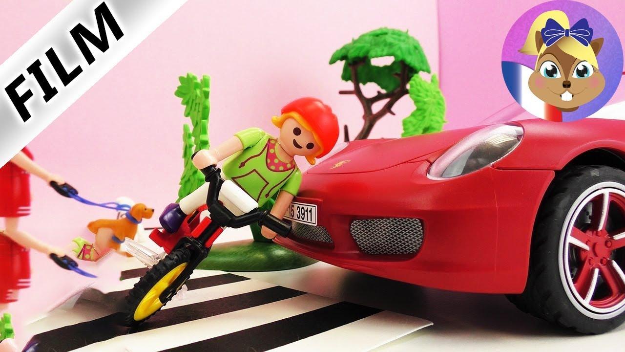 Accident De Voiture Playmobil Une Porsche Renverse Un