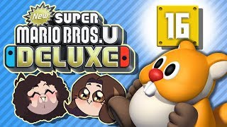 Super Mario Bros U Deluxe: Cheese What?! - PART 16 - Game Grumps