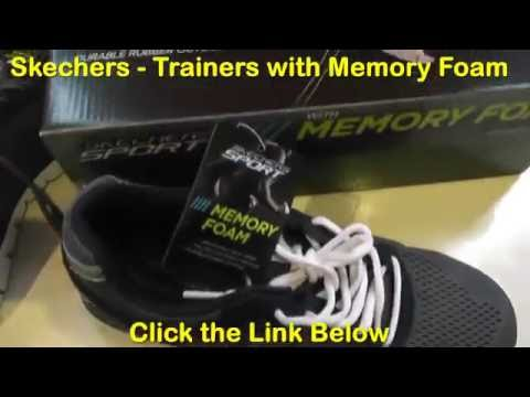 skechers running shoes with memory foam review