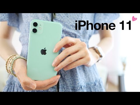 IPhone 11 Unboxing ♥ First Impressions!