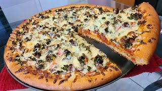 How to make Homemade Vegetable (Kale) Pizza