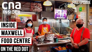 Hawkers In Maxwell Food Centre: Keeping The Legacy Alive | On The Red Dot | Singapore Hawkers