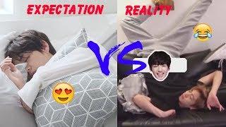 BTS 방탄소년단 Expectation Vs Reality