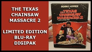 THE TEXAS CHAINSAW MASSACRE 2 - LIMITED 3-DISC UNCUT BLU-RAY/DVD DIGIPAK UNBOXING