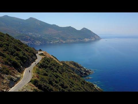 BEST MOTORCYCLE ROADS Episod 7 CORSICA 4K