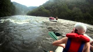 "Ocoee River Whitewater Rafting 17 ""Dildo Rock"""