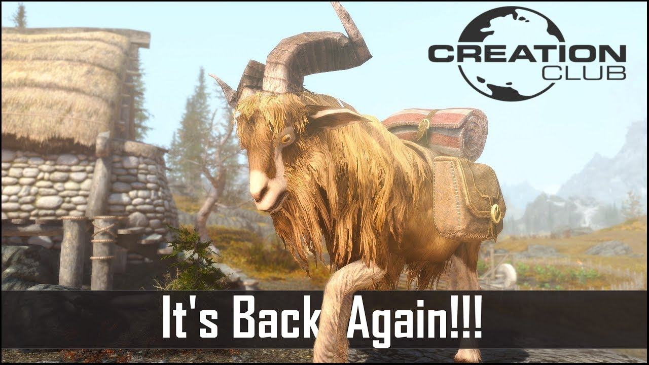 Skyrim's Creation Club RETURNS…  And it's Disappointing again (New Skyrim  Creation Club Releases)